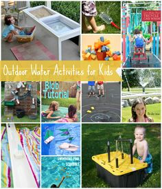 6 creative outdoor activities from the weekly kids co op at b activities for. Black Bedroom Furniture Sets. Home Design Ideas