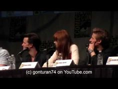 SDCC 2012 BBC America's Doctor Who FULL Panel Sunday July 15th - YouTube @Sarah Hepler  this probably the funniest thing ever!!!!