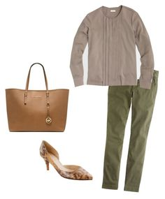 """Untitled #140"" by smag on Polyvore featuring J.Crew and Michael Kors"