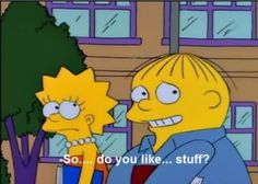 """19 Times Ralph Wiggum Was The Funniest Part Of """"The Simpsons"""" Simpsons Videos, Simpsons Episodes, Simpsons Quotes, Simpsons Characters, Tv Episodes, The Simpsons, Simpsons Funny, Image Simpson, Los Simsons"""