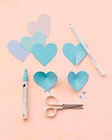 Los corazones azules, me gusta ...para variar