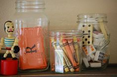 fall vingette...love the crayons @Theresa Ireland this made me think of you and YOUR great ideas!