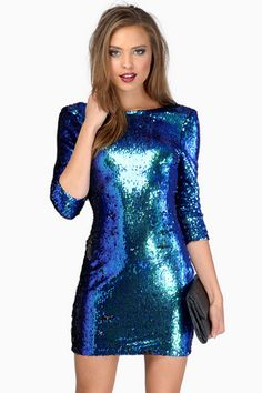 Shimmery Nights Sequin Dress
