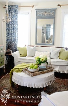 antique crib-turned-daybed | mustard seed, daybed and jenny lind