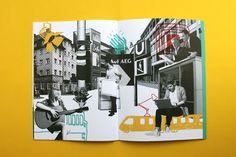 """Für die Nicht-Mainstreamer, Kreativen und Unkonventionellen, Kulturinteressierten und Kosmopoliten – für alle die haben wir die Marke """"Raum + 2015"""" für neuen Lebensraum in Muggenhof kreiert; und daraus wurden dann auch gleich ein Immobilien-Expose, Anzeigen und Flyer."""