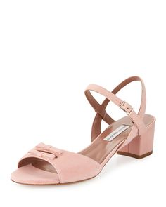 Tabitha Simmons   Bonnie Suede City Sandal   WedLuxe Magazine   #wedding #luxury…