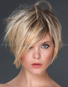 short+hairstyles,+short+haircut+-+shag+hairstyle+for+short+hair More
