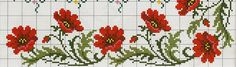 Копия 1+1 (668x190, 107Kb) Cross Stitch Borders, Cross Stitch Patterns, Poppies, Flag, Cross Stitch Rose, Cross Stitch Art, Cross Stitch Samplers, Wire Jewelry, Border Tiles