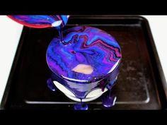Easy 5 Ingredient Mirror Glaze Cake I CHELSWEETS - YouTube