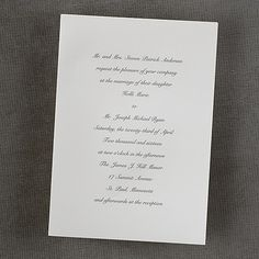 199343a78f9b23682eaf6ac84622c1e5 invites wedding invitation ideas classic ecru invitation this plain ecru wedding invitation comes,Plain White Invitations