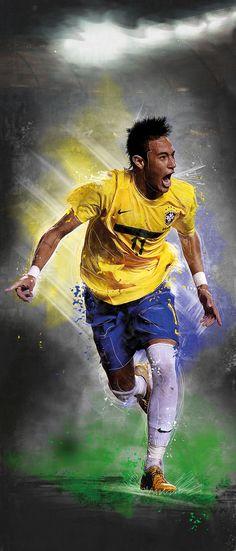 my best football player Brazilian Soccer Players, Good Soccer Players, Football Players, Neymar Jr, Soccer Art, Football Soccer, Basketball, Paris Saint Germain Fc, National Football Teams