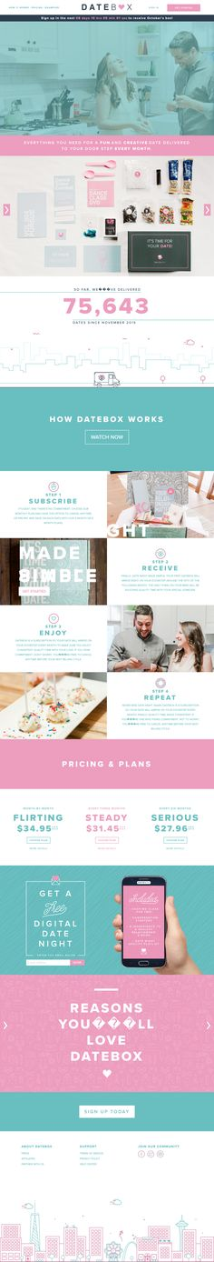 Datebox is a monthly subscription helping couples rediscover date night. Subscription Boxes, Flirting, Collection, Ideas, Thoughts, Budget Binder
