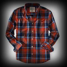 エアロポステール メンズ シャツ Aeropostale Long Sleeve Plaid Woven Shirt シャツ-アバクロ 通販 ショップ-【I.T.SHOP】 #ITShop