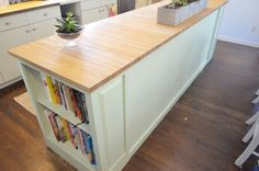 Building my dream kitchen island with help from the ReStore
