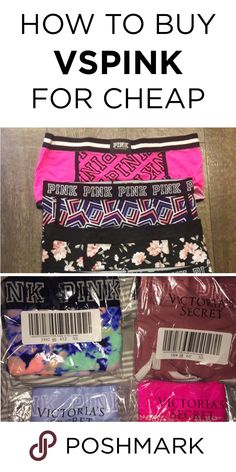 Get victoria's secret pink panties and boyshorts for cheap on Pink Outfits, Cute Summer Outfits, Trendy Outfits, Cute Outfits, Fashion Outfits, Fashion Styles, Cheap Pink Clothes, Victoria's Secret Pink, Vs Secret