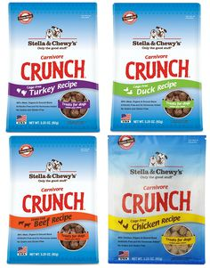 Stella and Chewy's Carnivore Crunch Variety Pack (Beef, Duck, Chicken, Turkey) ** Click image to review more details. (This is an affiliate link and I receive a commission for the sales) #MyDog