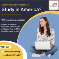 Paras education services is backbone of your financial support,choose us and let us guide you step by step in your dreams. For all your queries contact us on:- Visit our website and get yourself registered-www.isloan.org Email us on- info@isloan.org No Worries, Dreaming Of You, Study, Dreams, Let It Be, Education, How To Plan, Website, Cover