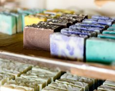 Earth Friendly Soap, Palm Free Natural, Cold Process Bars Scented with Pure Essential Oils.