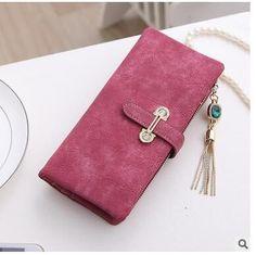 Frauen Leder Mini Wallet ID Kartenhalter Zip Münze Geldbörse Kupplung Handtasche