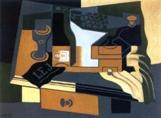 The Coffee Grinder - Juan Gris - The Athenaeum