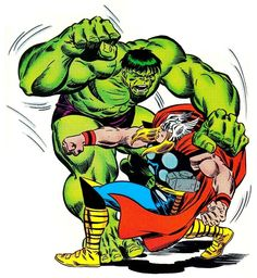 1987 - Thor vs. The Hulk by Ron Frenz