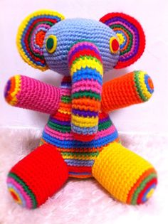 #Crochet elephant
