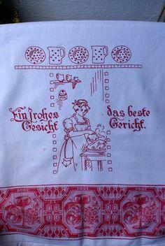 Vintage embroidery - Brigitte -