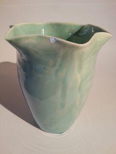 Lynda-anne Raubenheimer porcelain with my favourite glaze - love how the glaze behaved - sold 2013