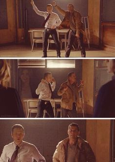 Dancing Ryan & Esposito