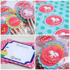 My Little Pony Birthday Party Package - Personalized and Assembled - Rainbow Dash