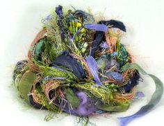 Bayou Elements 26yds Textile Fiber Art Yarn by FishBayElements