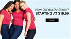 We have a style and fit for every body type. Check them out today on www.youravon/dbauleke  Jeans starting at $19.99