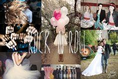Mariage Rock'n roll | Blog mariage, Mariage original, pacs, déco