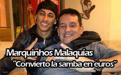 Malaquías ha sido uno de los representates que ha participado en la operación Neymar-Barça. Pero ojo que tiene un background que ya lo quisiera para la Generalitat el propio Andreu Mas-Colell.
