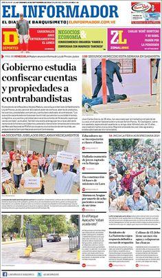 #Portadas #Viernes #PrimeraPagina #Titulares #Noticias #DesayunoInformativo @ElInformadorVe