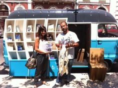 Portekiz'de Bir Gezici Edebiyat Minibüsü * Bigumigu