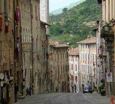 Gubbio, Umbria.