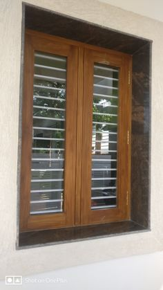 Wooden Window Frames, Home Window Grill Design, Wooden Main Door Design, Wooden Window Design, Indian Window Design, Glass Design, Wooden Door Design, Door Glass Design, Room Door Design