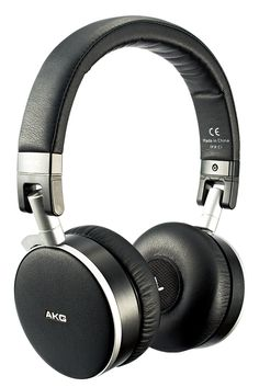 AKG K495 Noise Cancelling (Black) available from experienceheadphones.com #giftguide #worldtraveller #headphones