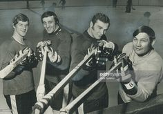 Murderers' row in boston: These four members of high-scoring Boston Bruins totalled 207 goals and 305 assists in 78 games this season; propelling their club to a record 57 victories in National. Get premium, high resolution news photos at Getty Images Phil Esposito, Bobby Orr, State Champs, Boston Bruins Hockey, Boston Sports, Old Tv Shows, National Hockey League, New York Rangers, Montreal Canadiens