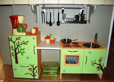 87 Best Diy Play Kitchens Images Childhood Toys Diy For Kids Diy
