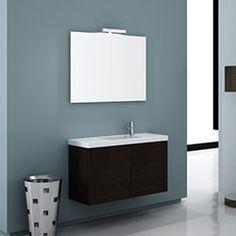 """39"""" Nameeks Iotti Happy Day HD03 Bathroom Vanity #BathroomRemodel #BlondyBathHome #BathroomVanity  #ModernVanity"""