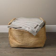 Jute Storage Bag   The White Company