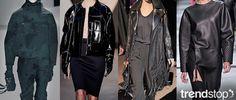 Fall Winter 2014-15, Dark Daywear Elegance a key trend theme, women's apparel and accessories, runway 2