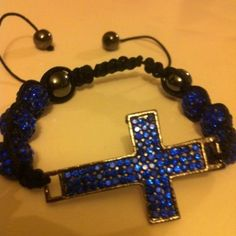 Online-Shamballa-String-Cross-Bracelet