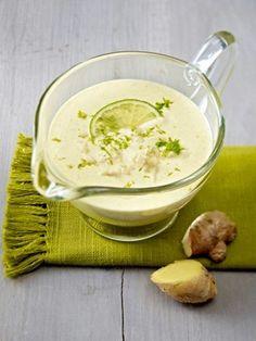 Curry-Joghurt-Dressing mit Limette