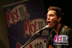 Andy Grammer Acoustic - Mix 100.7 Tampa Bay At-Work Radio Station