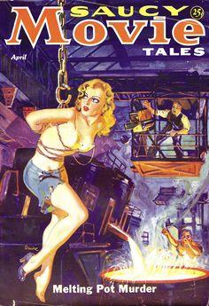 Arte Do Pulp Fiction, Pulp Fiction Book, Pulp Magazine, Magazine Art, Magazine Covers, Arte Horror, Horror Art, Cthulhu, Kitsch