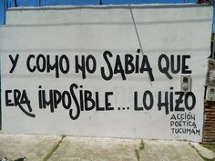 Imposibles?