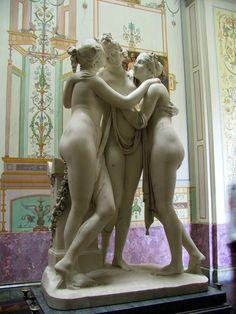 Las Tres Gracias - Rubens, Museo Hermitage - Palacio de Invierno - San Petersburgo, Rusia.